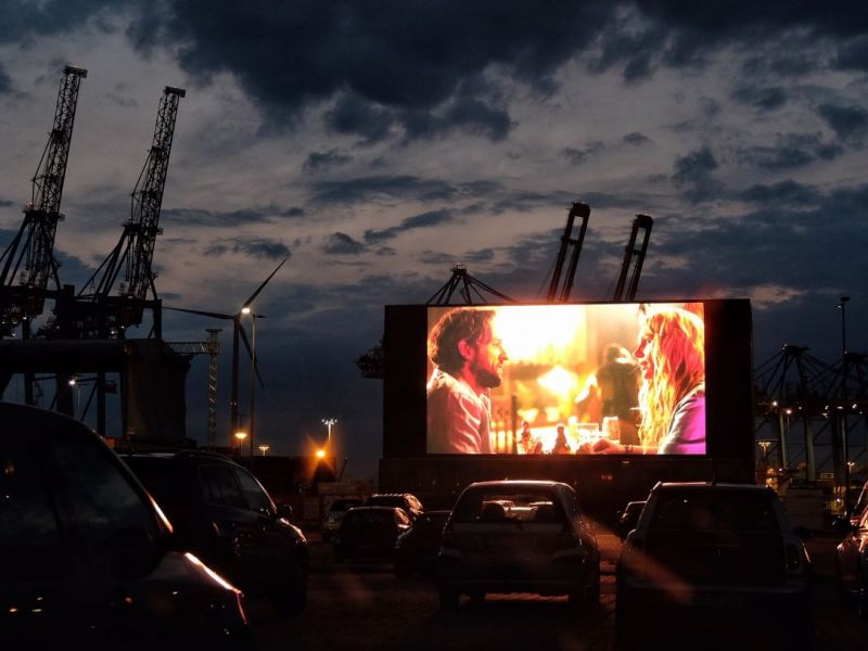 Drive-In Theater. Cruise Center. Elbe.